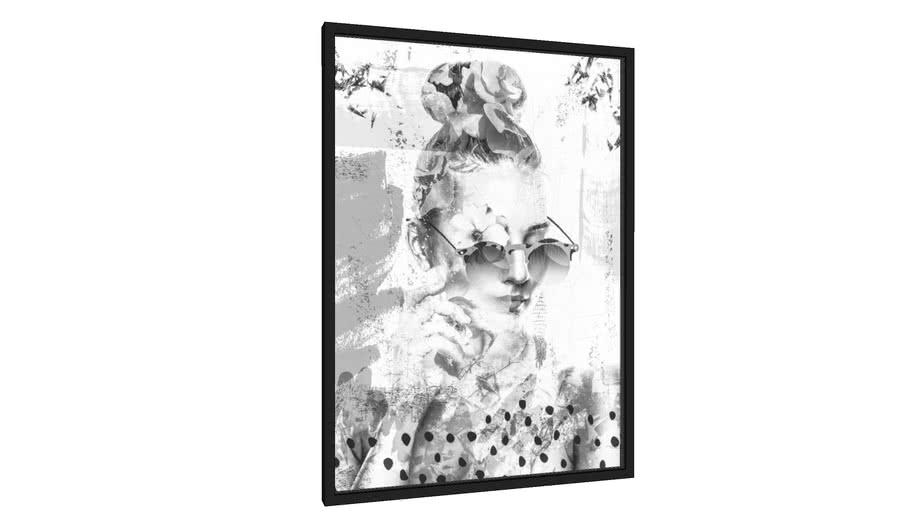 Quadro Olhar Florido03 - Galeria9, por TASStudio
