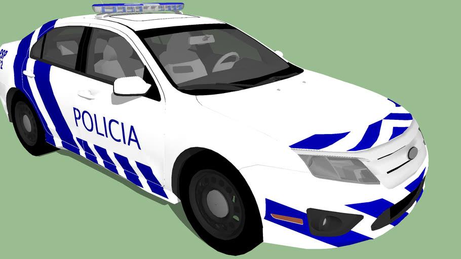 Coque Policia Segurança Publica Portuguesa