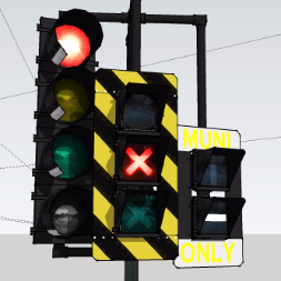Safetran Railroad Crossing Signals   3D Warehouse