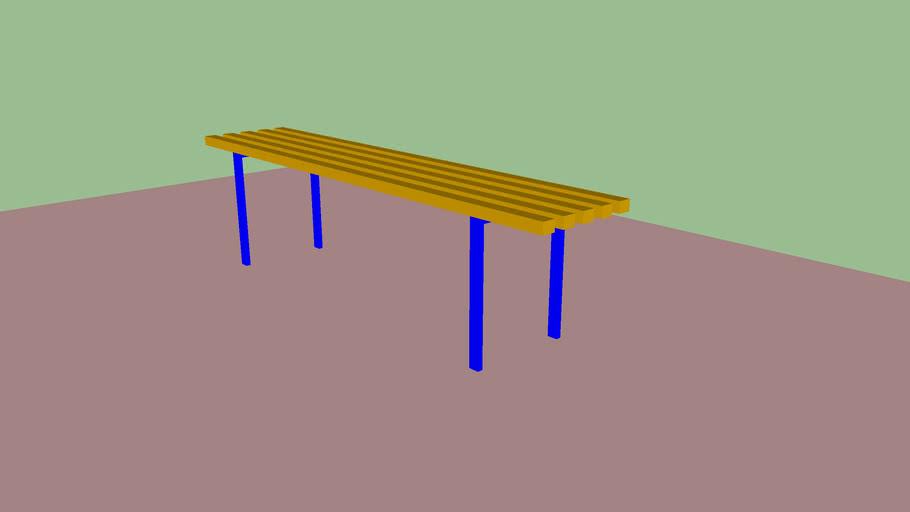 Скамейка   Классик Bench Classic