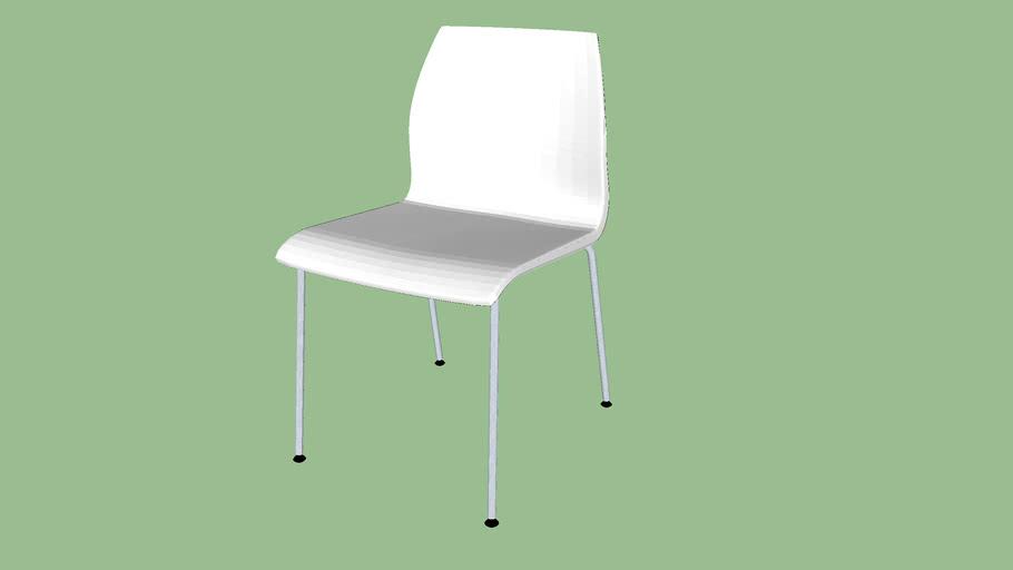 Vortex - Single Toned 4 Leg Chair - Model 1140