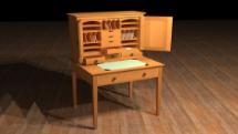 傳統西方古典木工家具