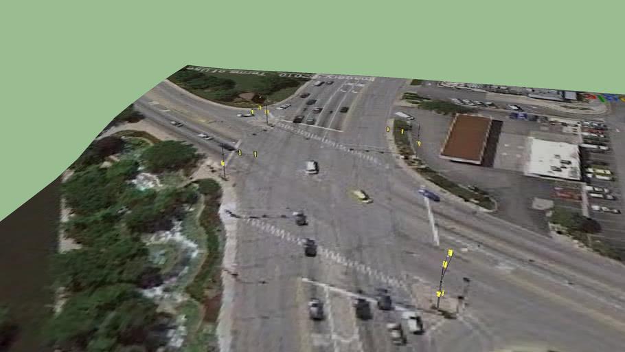 IL 72/ Des Plaines River Road/ Traffic Light