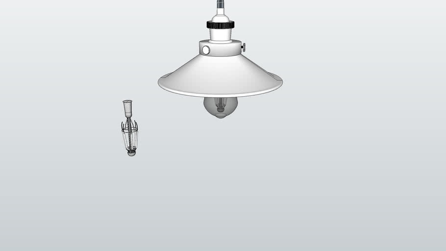 RETRO modern vintage celing light