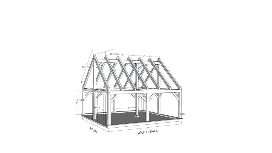 Perl garage frame