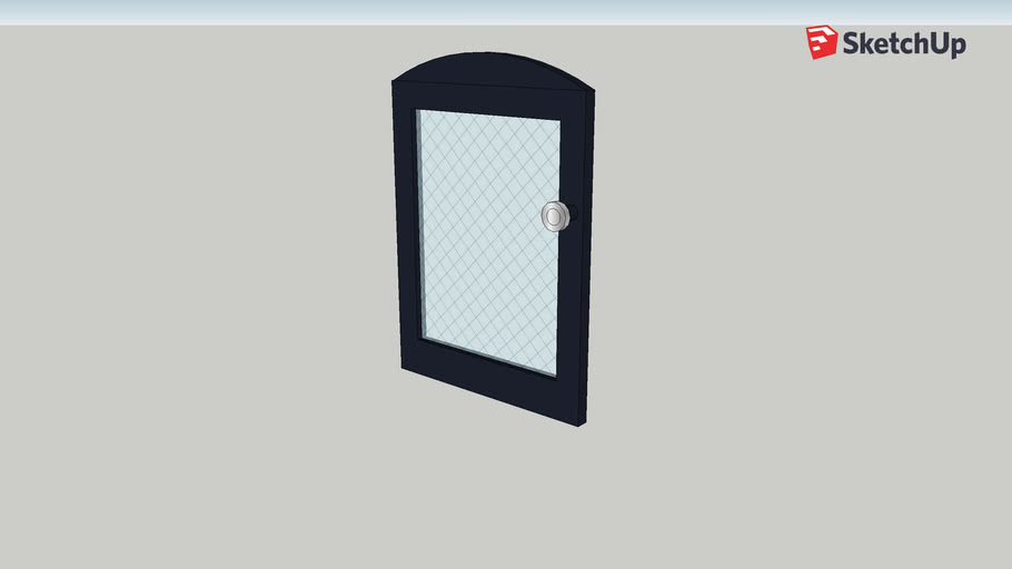 Masonry Heater Door