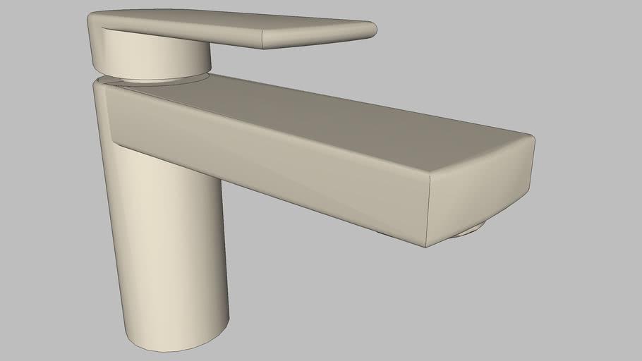 DOCOL - Monocomando para banheiro Argon níquel escovado 847744