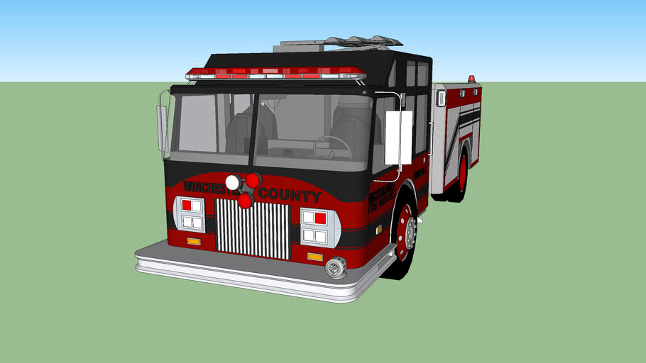 Winchester County FD Engine 6