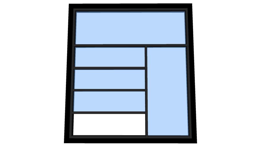 modern kit window