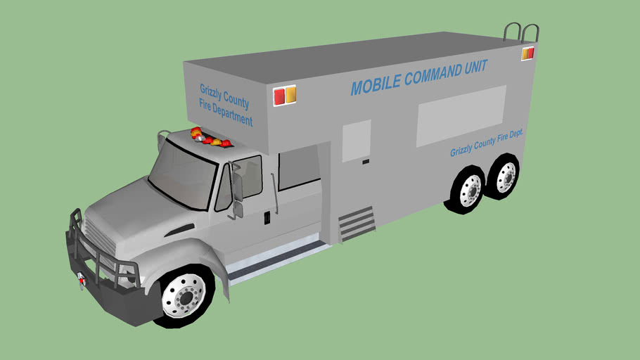 GRIZZLY COUNTY FIRE DEPT. MobileCommandUnit