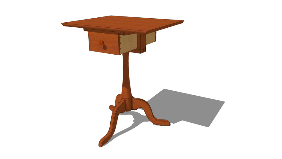 Shaker Sewing Stand