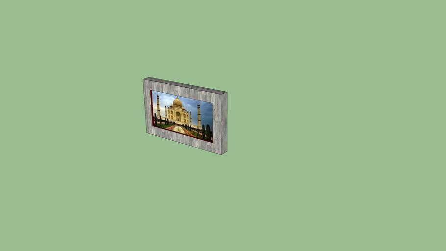cuadro de pared 3/3 / square for wall 3/3