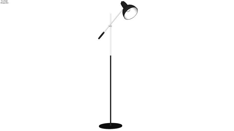 Bistro floor lamp