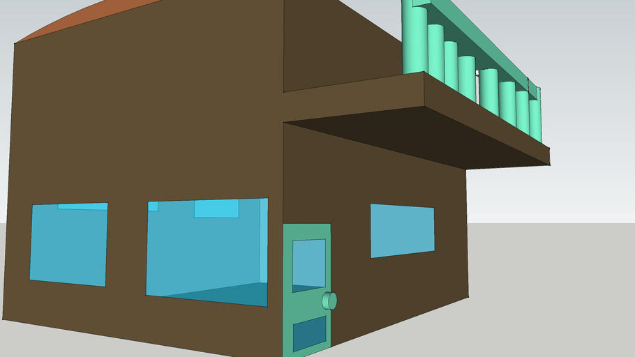 House design by my 9 year old son