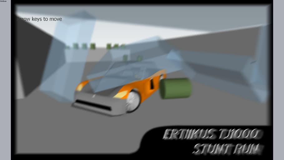 Sketchyphysics - Ertiikus TJ1000 Stunt Run