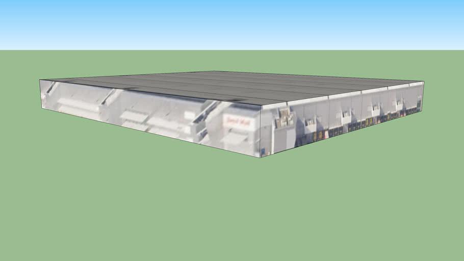 (大不列颠)联合王国 西米德兰兹郡 伯明翰邮政编码: B6 9DT的建筑模型