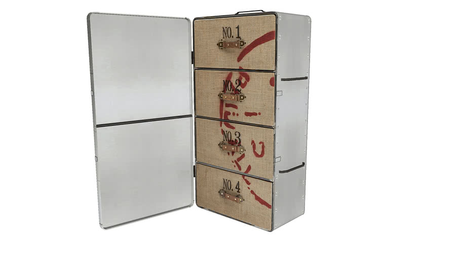 82153 Cabinet Suitcase