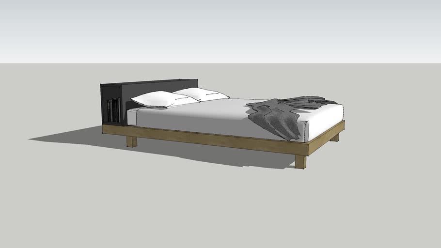 Design Mobel Abode Bed (Queen)