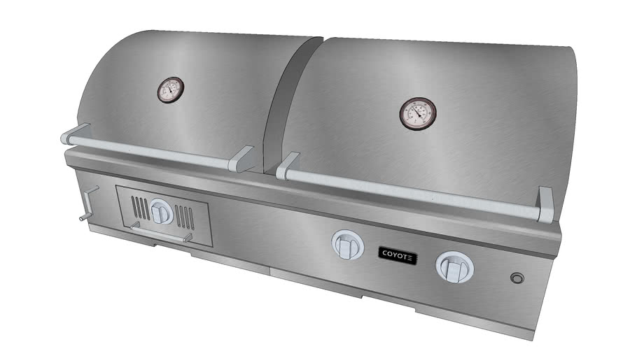 50″ Hybrid Grill - Coyote Outdoor Living, Inc.   3D Warehouse on Coyote Outdoor Living Inc id=60958