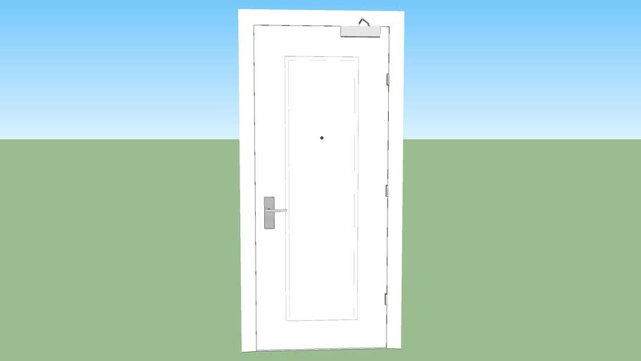 Modern Door 3.0 [With Electronic Hotel Locks]