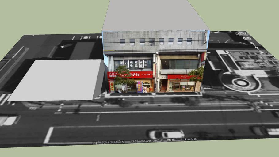 広島市五日市コイン道り商店街の建物 No.53