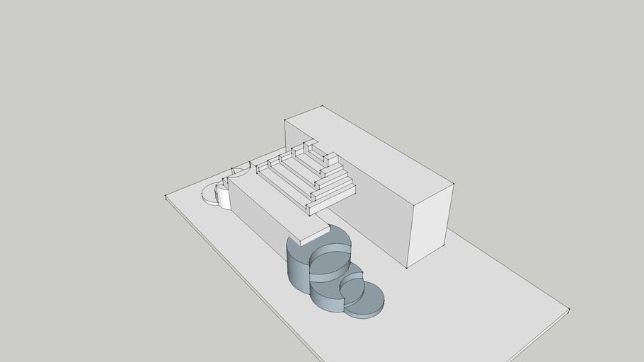 modern stair-case