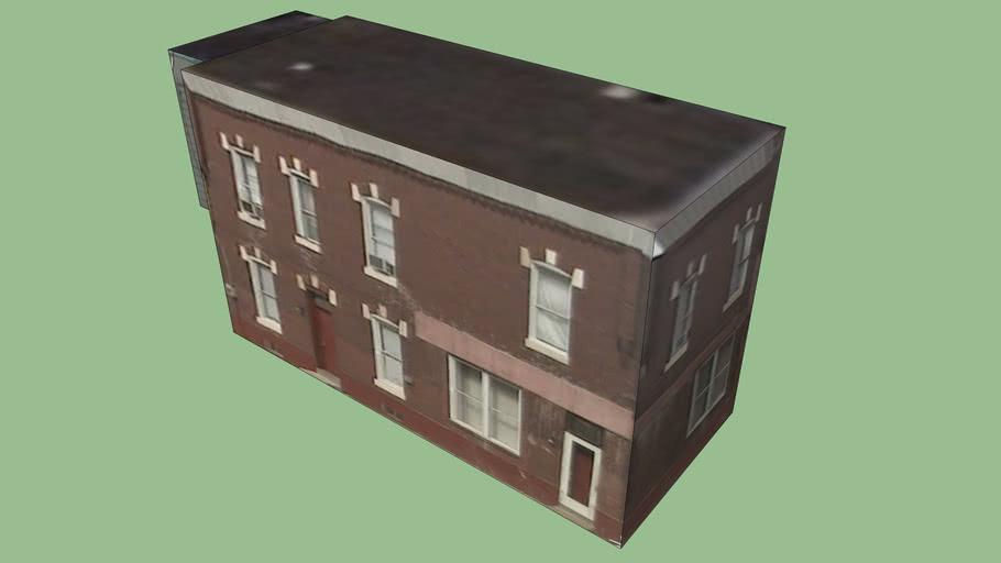 Gebäude in Philadelphia 340, PA, USA
