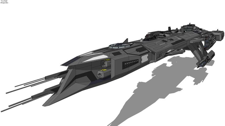 ICF-BC406 - 'Ergo' Battlecruiser