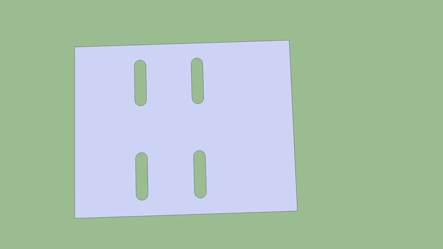 motor mount plate
