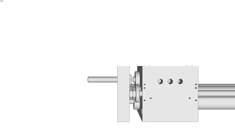 Lineareinheit LE-K-K-9-25 mit abgedichteter Kugelf�hrung