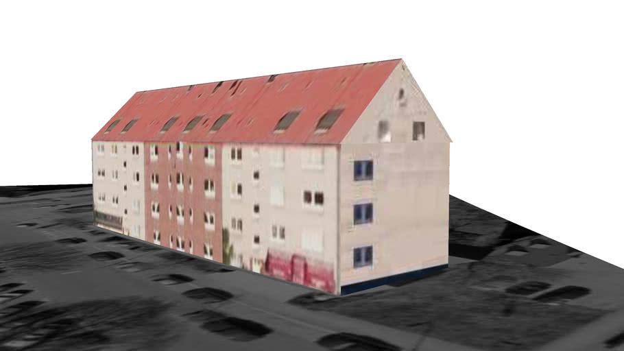 Gebäude in Dortmund. Deutschland
