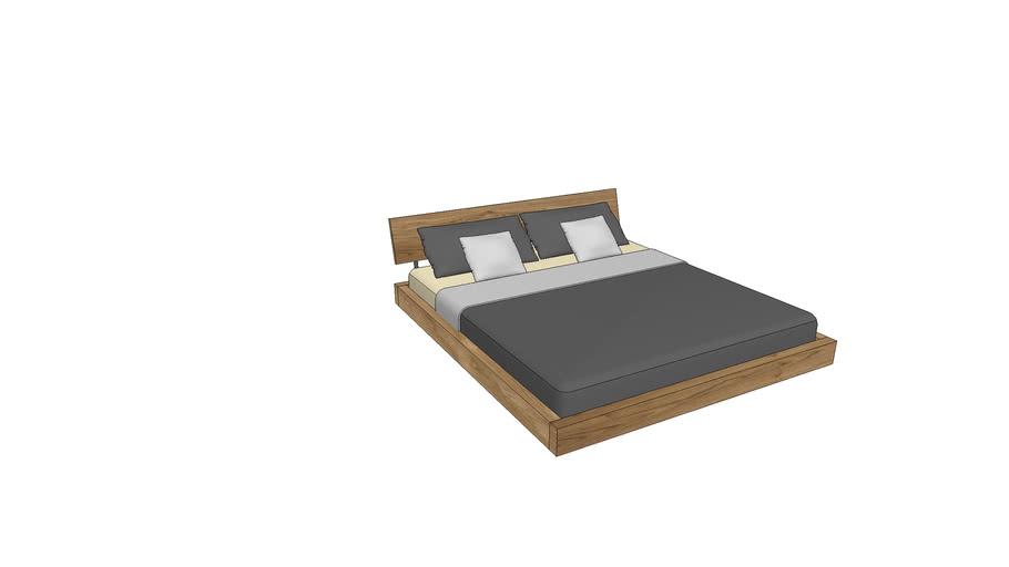 LA740, Lausanne Bed 180x200cm