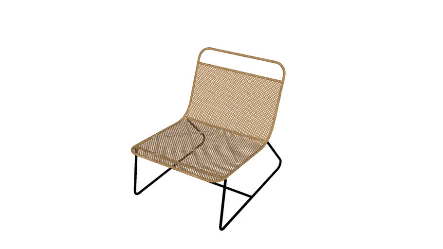 Fauteuil lounge Théophane design E. Gallina
