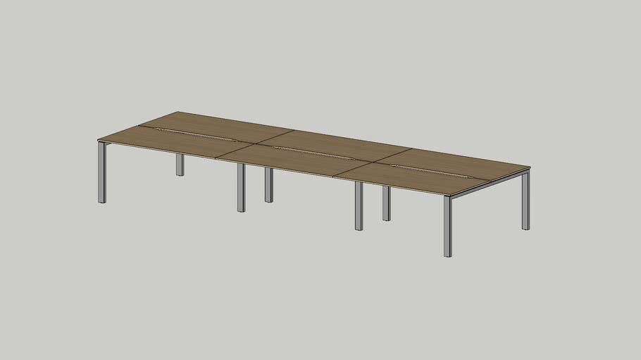 No.1 working bench 4800x1625 cutout