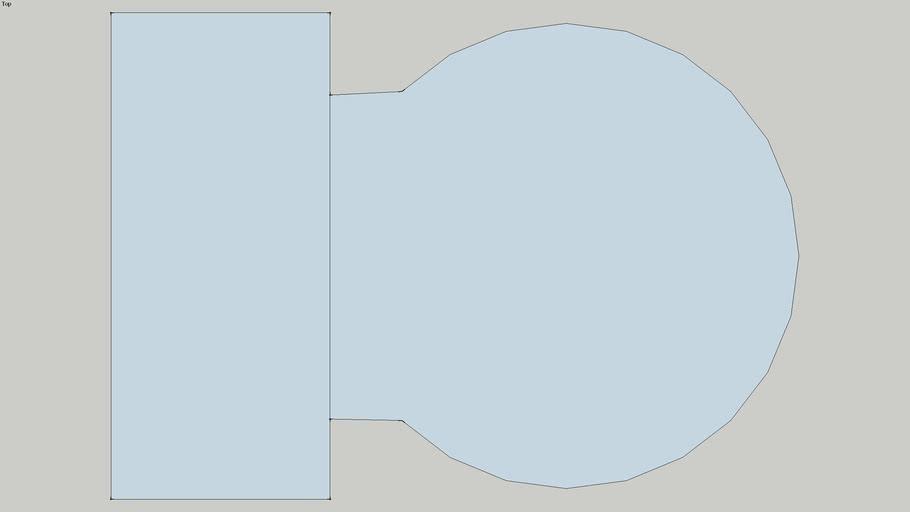 Floor Plan Toliet