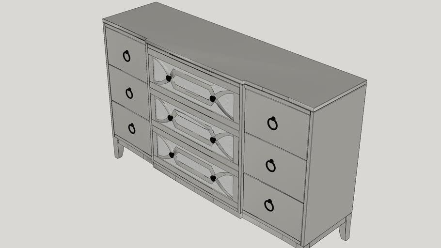Nicolas 9 Drawer Dresser