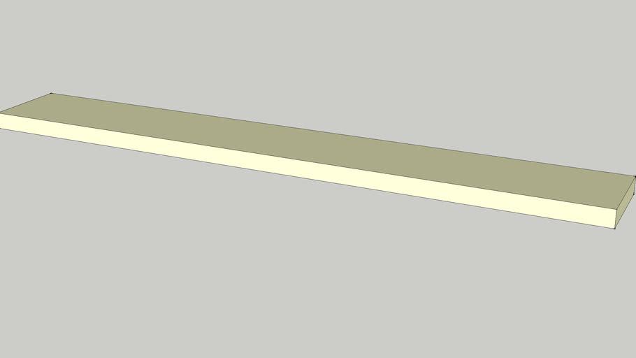 IKEA LACK Wall shelf birch effect 190x26