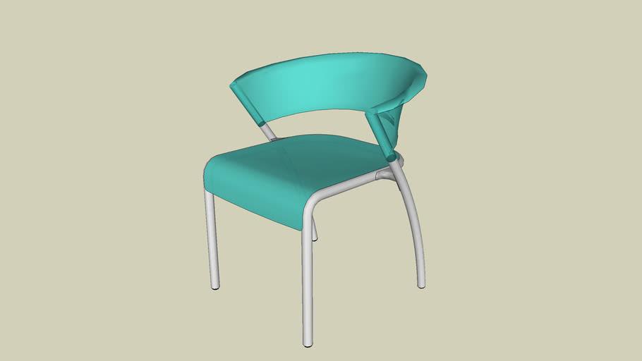 Forms+Surfaces® Bantam™ Chair, aquamarine