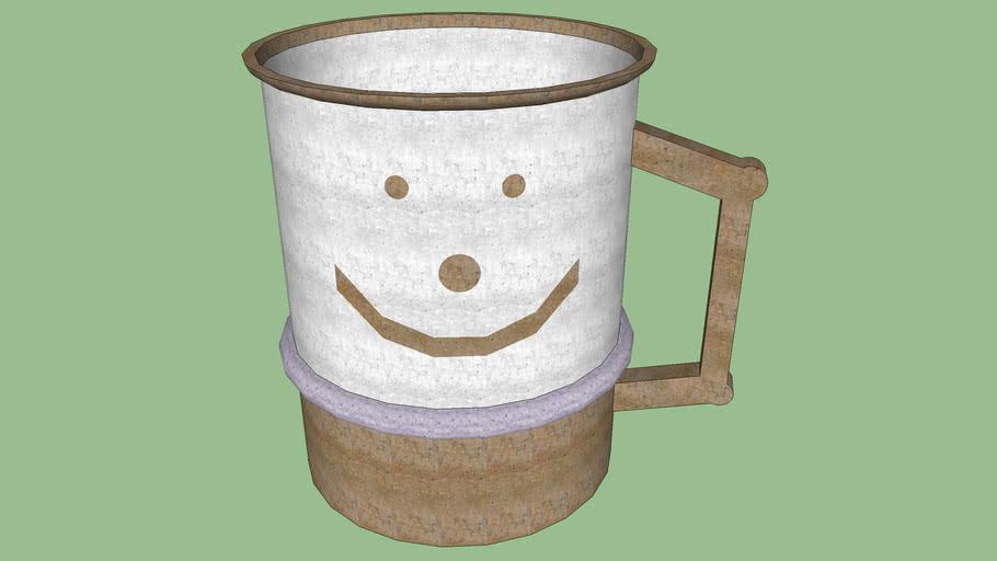 Happy Face Coffee Mug - Sketchup 7.