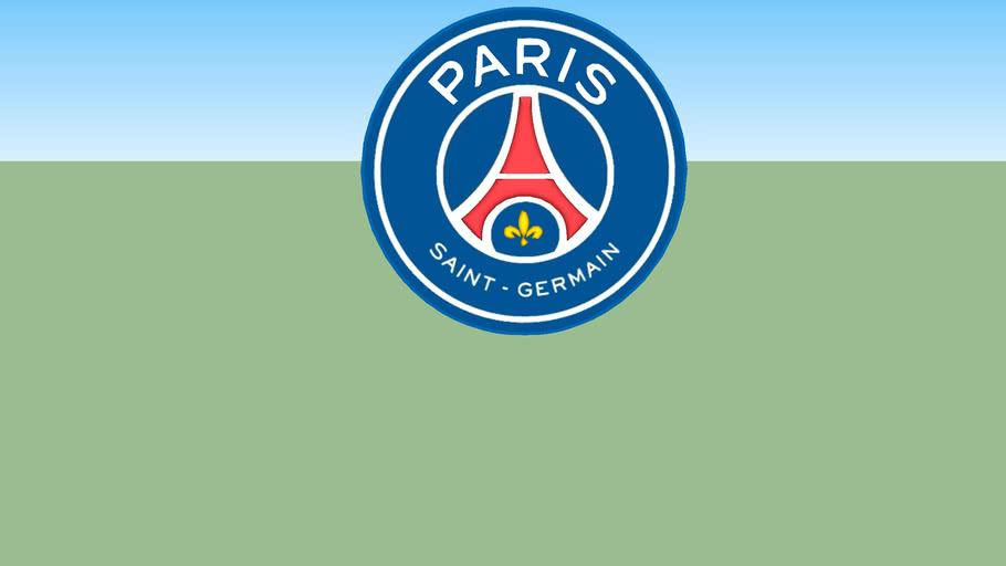 Logo Football Nouveau Logo Psg Paris Saint Germain 3d Warehouse