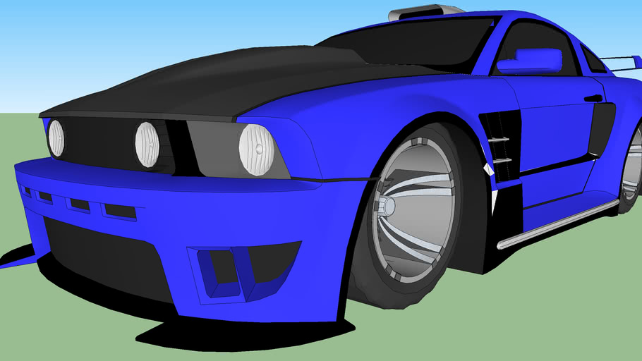 07 ford mustang drift car