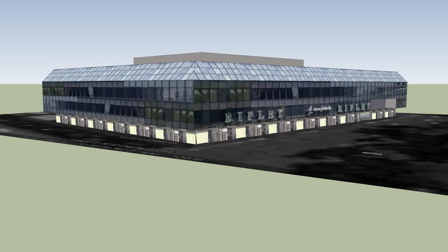 Edificio Ripley y Municipalidad de Temuco