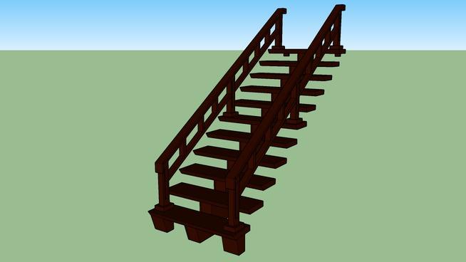 Playmobil brown stairs
