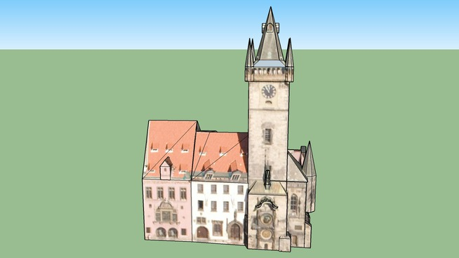Prague Old Town Hall and Astronomical Clock