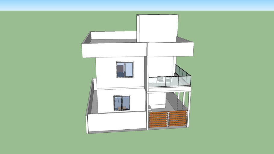 3 BHK House with car Parking