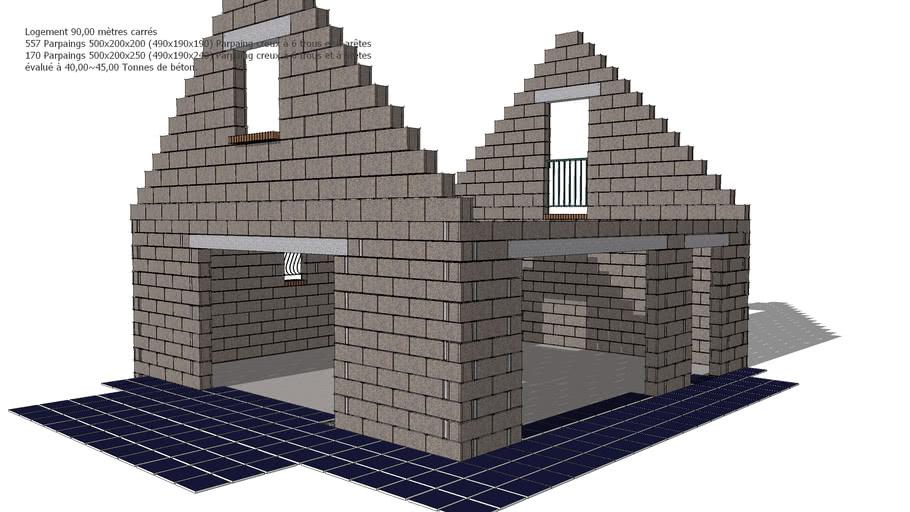 xtrmexport.com - Logement de gardien 90,00 mètres carrés...