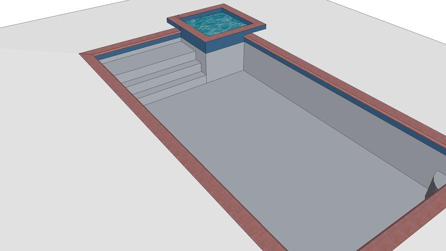 15x30 basic pool & spa