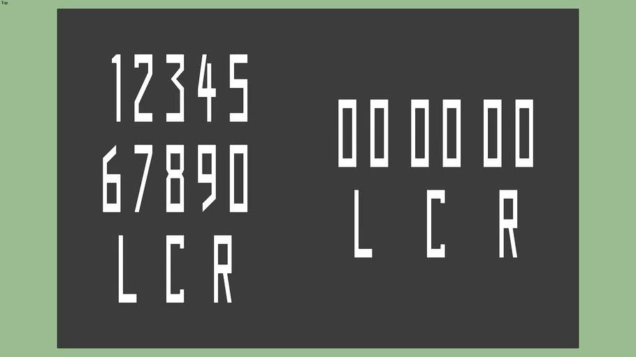 Runway Numbers