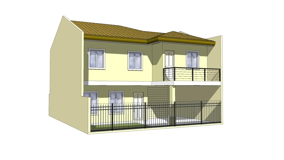 two storey residence