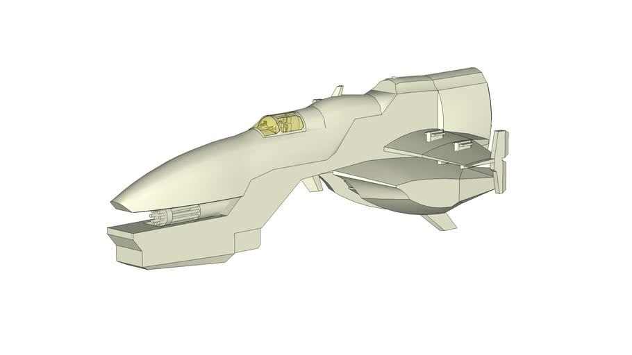 Gun Runner spaceship
